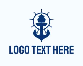 """Ferry Ship Anchor "" by marcololstudio"