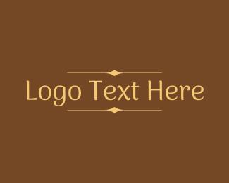 Beauty Brand Wordmark  Logo