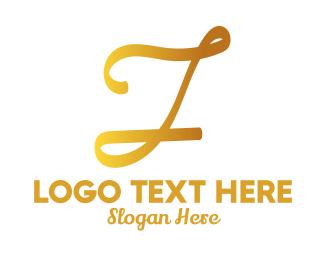 Writing - Classic Writing Letter I logo design
