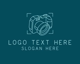 Camera Repair - Photography Camera logo design