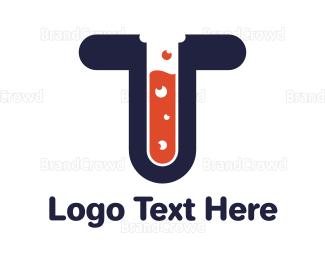 Bio Tech - Blue T Lab logo design
