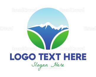 Everest - Mount Everest Nature logo design