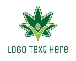 Joint - Marijuana Power logo design