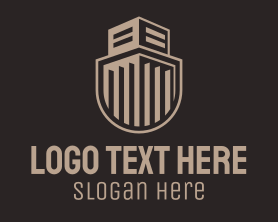 Guard - Building Guard Shield logo design