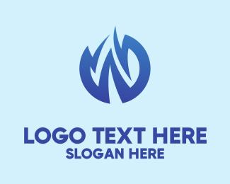 Pointy - Zigzag Letter W  logo design