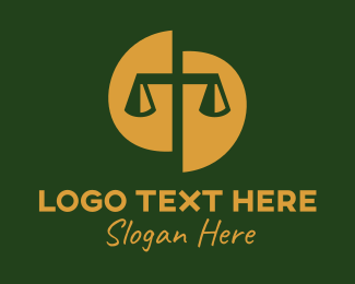 Scales - Law Firm Justice logo design