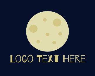 Moonlight - Full Moon logo design
