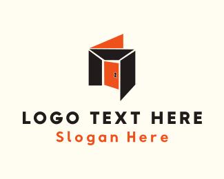 Door - Orange Room logo design