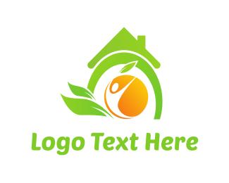 Beverage - Organic House logo design
