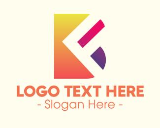 Geometric Shapes - Modern Art Shapes logo design