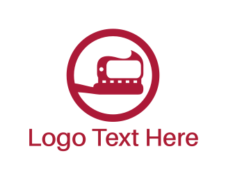 Medical Equipment - Red Toothbrush logo design