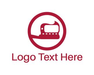 Toothbrush - Red Toothbrush logo design