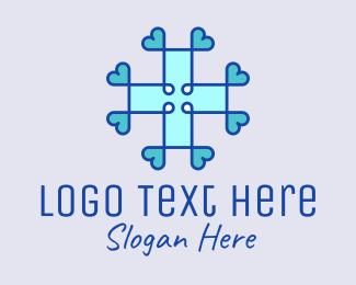 Medical Supplies - Heart Cross Medical  logo design