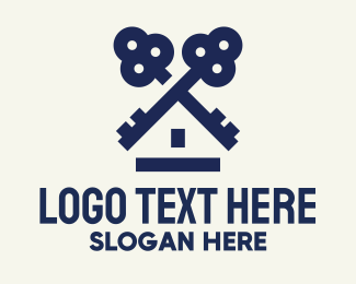 Key - Key House logo design