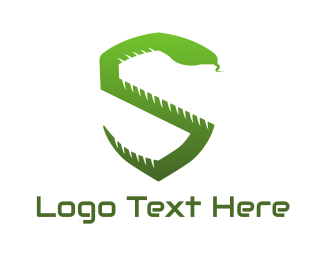 Snake - Snake Shield logo design