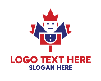 Soldier - Canadian Soldier logo design