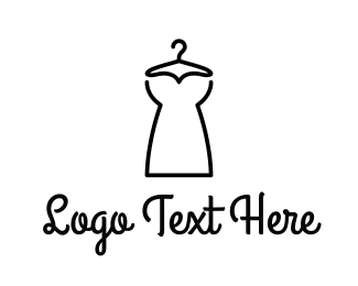 Service - Minimalist Dress logo design