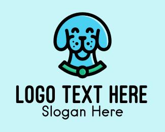 Animal Rescue - Happy Dog Vet logo design