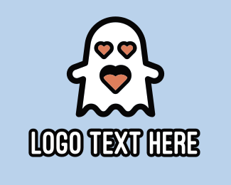 Ghost - Love Ghost logo design