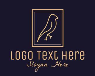 Eagle - Bird Sanctuary Emblem logo design