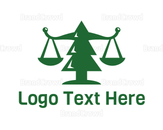 Law - Pine Tree Law Firm logo design