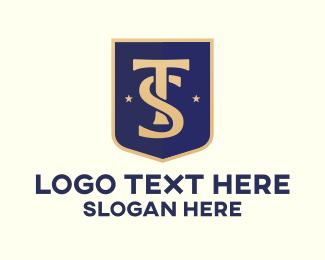 Durable - T & S Shield logo design