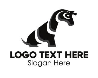 Savanna - Cute Zebra logo design