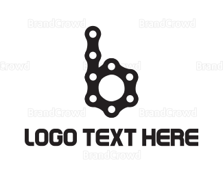 Chain - Bicycle Chain B logo design
