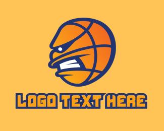 Basketball Mascot  Logo