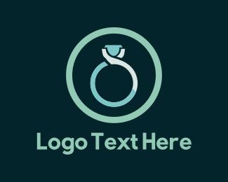 Engagement - Blue Ring logo design