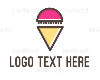 Cone - Jelly Cone logo design