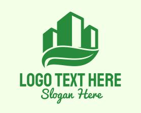 Buildings - Green Eco Building logo design
