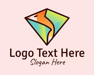 Gem - Fox Treasure Gem logo design