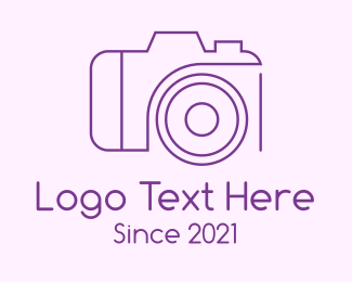 """""""Purple Professional Camera"""" by CreativePixels"""