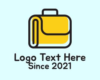 Job Hunt - Business Work Suitcase  logo design
