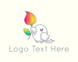 Cute - Cute Little Bird logo design