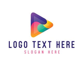Play - Colorful Play Media logo design