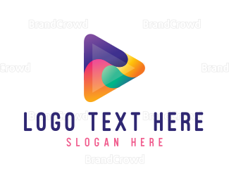Whirl - Colorful Play Media logo design