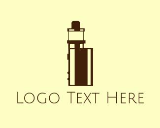 Trend - Tiny Vape Device logo design