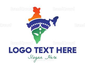 Bangladesh - Minimalist Shiva India logo design