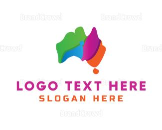 Multicolor - Multicolor Australia logo design