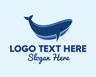 Environment - Blue Whale  logo design