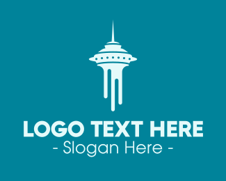 Space Needle - Seattle Tower logo design