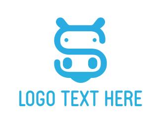 Hippo - Hippo Letter S logo design