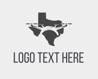 Furnitureinterior Texas Drone logo design