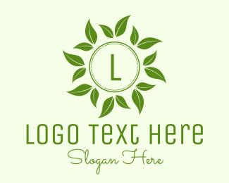 Frond - Nature Leaf Lettermark logo design