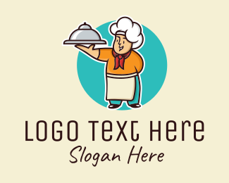 Cloche - Chef Catering Caterer logo design