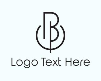 Easy - B & P logo design
