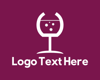 Wine Glass - Wine Glass logo design