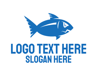 Blue Fish - Blue Fish logo design